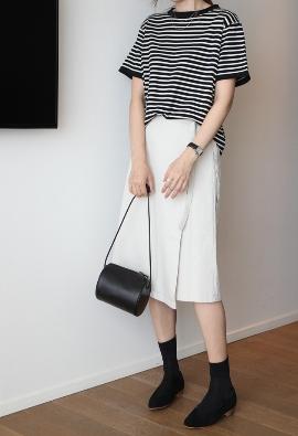 Cotton wrap skirts (4color)