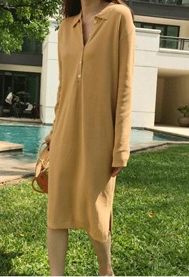 Like knit dress (4color)