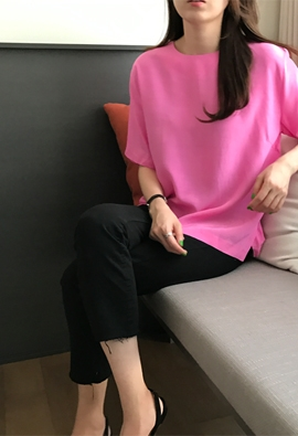 Luster Tee Blouse (3color)