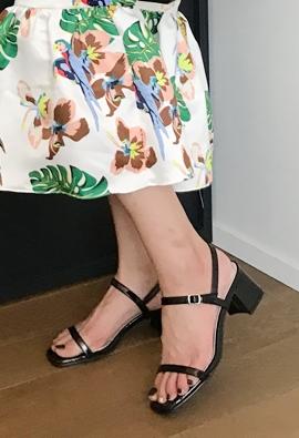 Slimline sandals (2color)