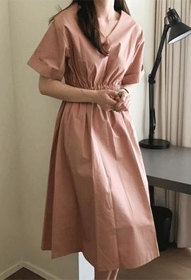 Rubber dress (3color)
