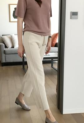 String knit pants (3color)