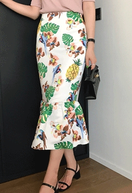 Tropical Skirt (2color)