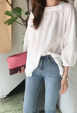 Port blouse (3color)