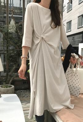 Entwist dress (3color)