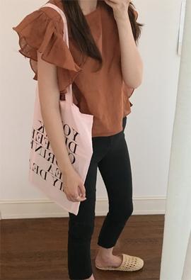 Wings linen blouse