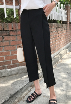 [Back band] Side flap pants (4color)