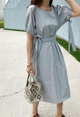 Ribboned dress (2color)