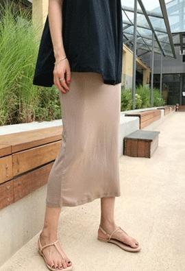 [Band type] Tencel skirt (5color)