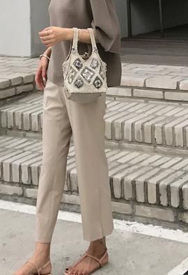 Slit flap pants (3color)