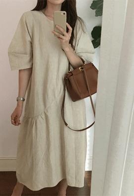 Askew dress (2color)