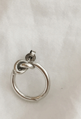 [Real] Knot ring E (2type)