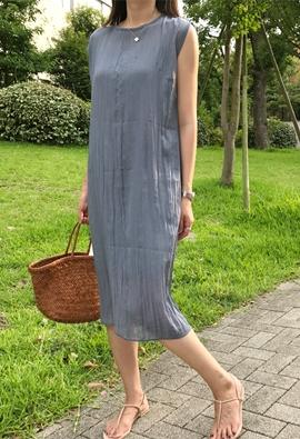 [Inner set] furrow dress (2color)