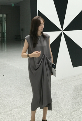 Draping Dress (3color)