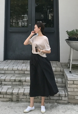 Russell Long skirt (3color)