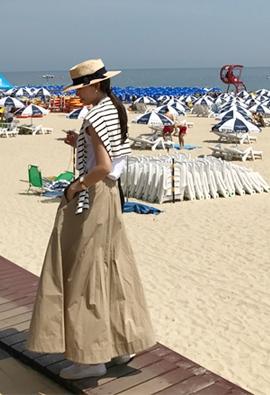 Swell Long skirt (4color)