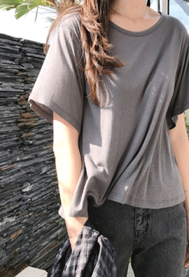 Flare tee (5color)