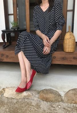 Lady dot dress (2color)