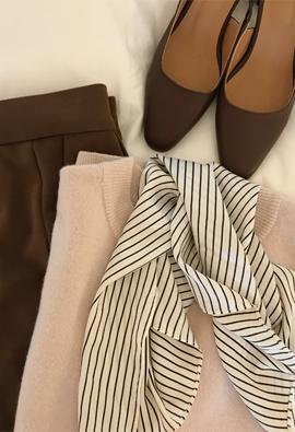Stripe scarf (3color)