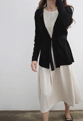 Strap cardigan (4color)