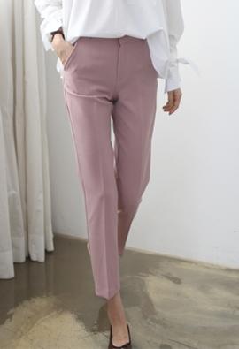 Slim fit slacks (3color)