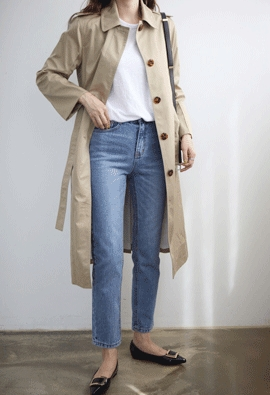 Modern trench coat (2color)