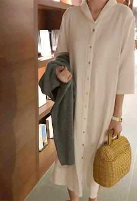 Plain dress (2color)