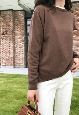 [Cashmere] Rise knit (6color)