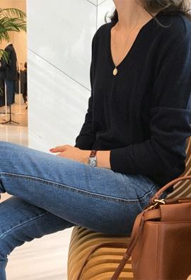 [Cashmere] Jess knit (5color)