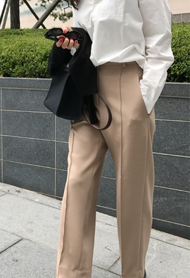 Upright pants (4color)