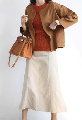 Light cotton jacket (3color)