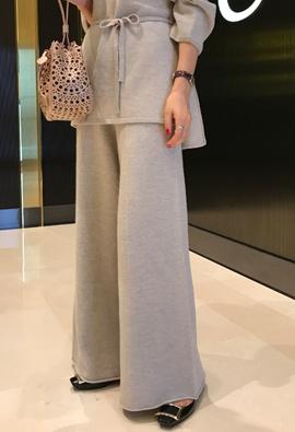 Superb knit pants (2color)