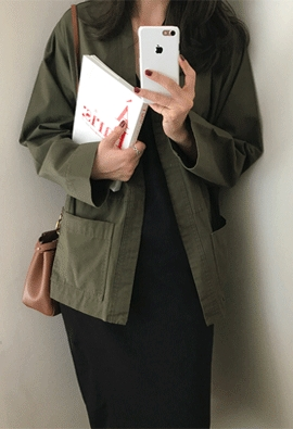 Chic gown jacket (2color)