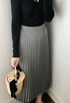 Hound pleats skirt