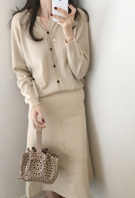 Reorder cardigan (4color)