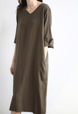 Sleek dress (2color)