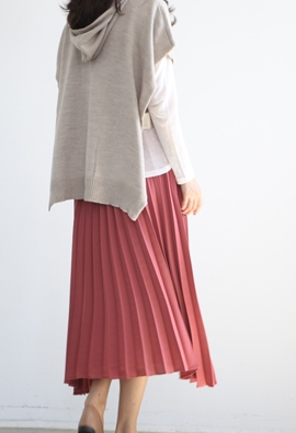[Band Type] Happy pleat skirts (4color)