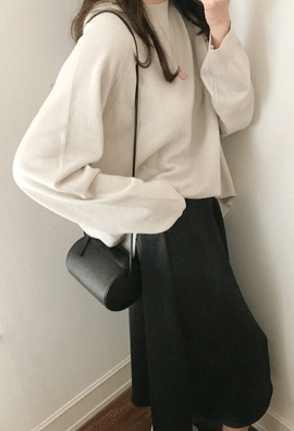 [Band Type] Lustre skirts (black)