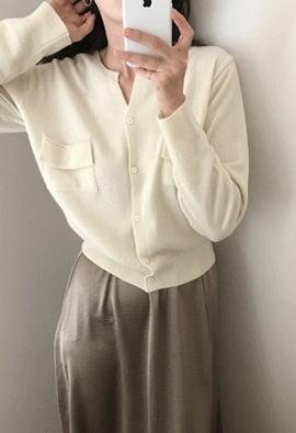 [Cashmere] Sandy cardigan (4color)