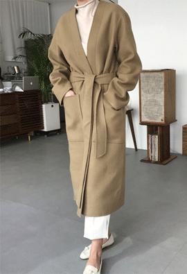 Pelt wool coat (2color)