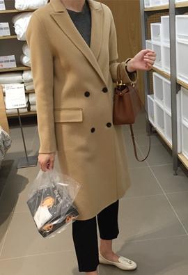[Cashmere] [HandMade] Saint coat (5color)