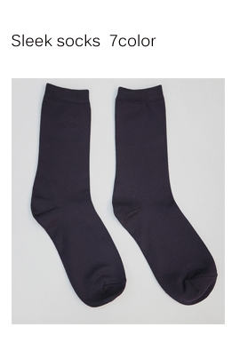 Sleek socks (7color)