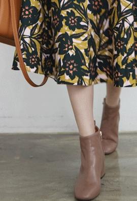 Parse ankle boots (3color)