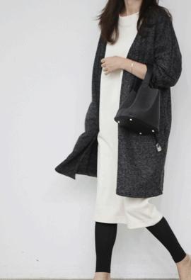 Tweedy cardigan (2color)
