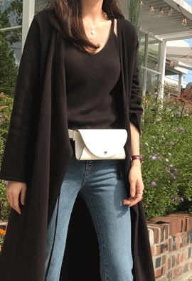 [Cashmere] camisole knit top (3color)