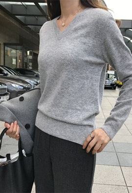 [Cashmere] Grader knit (5color)