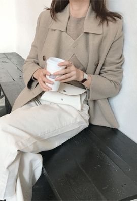 Double wool jacket (2color)
