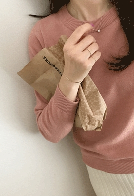 Each round knit (6color)
