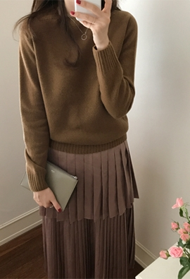 [Holgum] [cashmere] Select knit (2color)