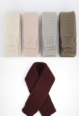 Knitted muffler (8color)